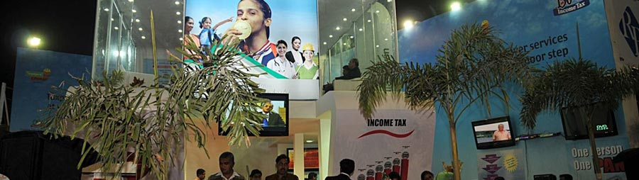INCOME TAX- STALL, KOLKATA 2011